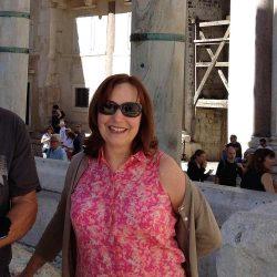 Lynn Cicarelli in Split Croatia